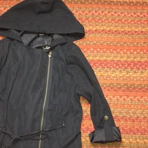 36ed824f3dbd6 Poetry. NWT NAVY LIGHT WEIGHT JACKET